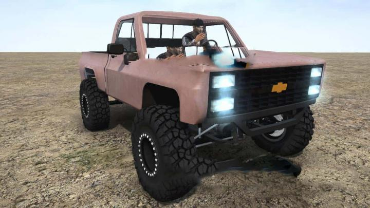 Photo of SpinTires MudRunner – Chevy 1985 Model