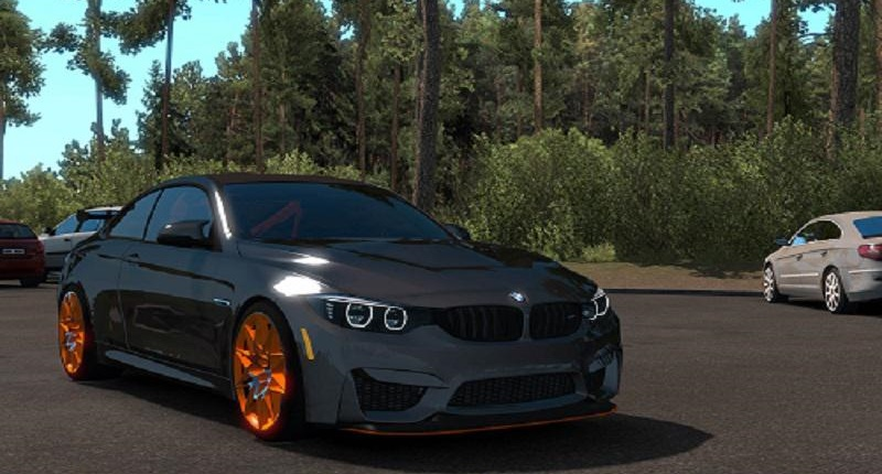 Photo of ETS2 – BMW M4 GTS Coupe RWD 2016 Model