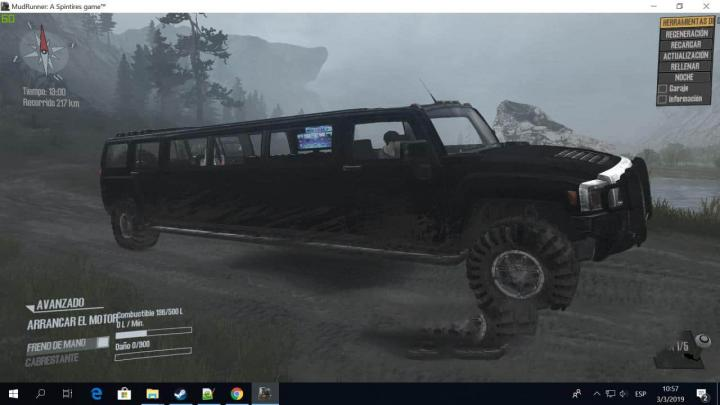 Photo of SpinTires MudRunner – Hammer Limuzin Modu V1
