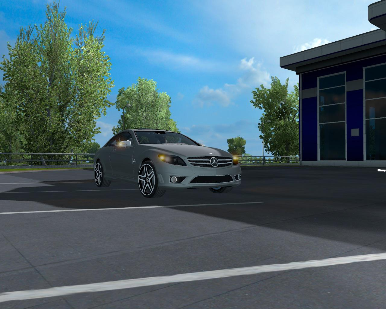Photo of ETS2 – Mercedes CL65 AMG Araba Modu