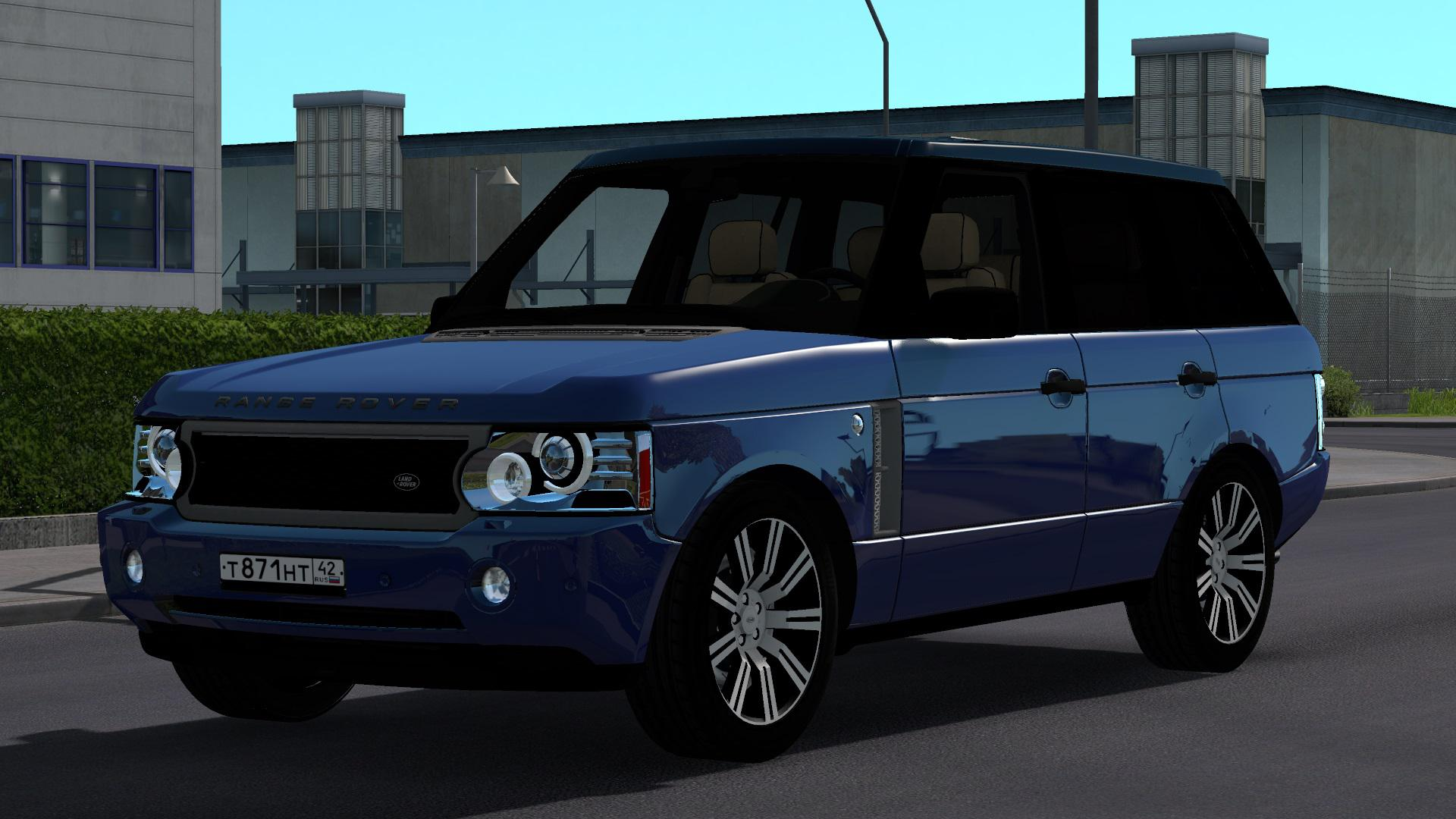 Photo of ETS2 – Range Rover Supercharged 2008 Model Fix Mod