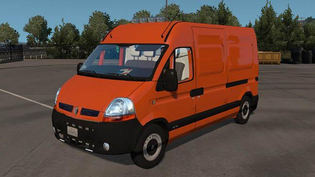 Photo of ETS2 – Renault Master Van Fix Mod