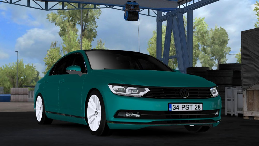 Photo of ETS2 – Volkswagen Arteon Passat V1R2 Araba Modu