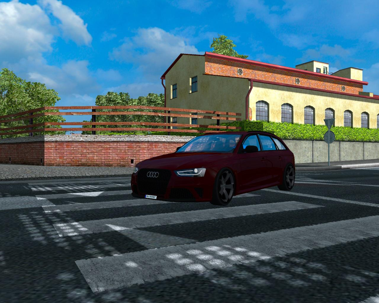 Photo of ETS2 – Audi A4 Avant Araba Modu