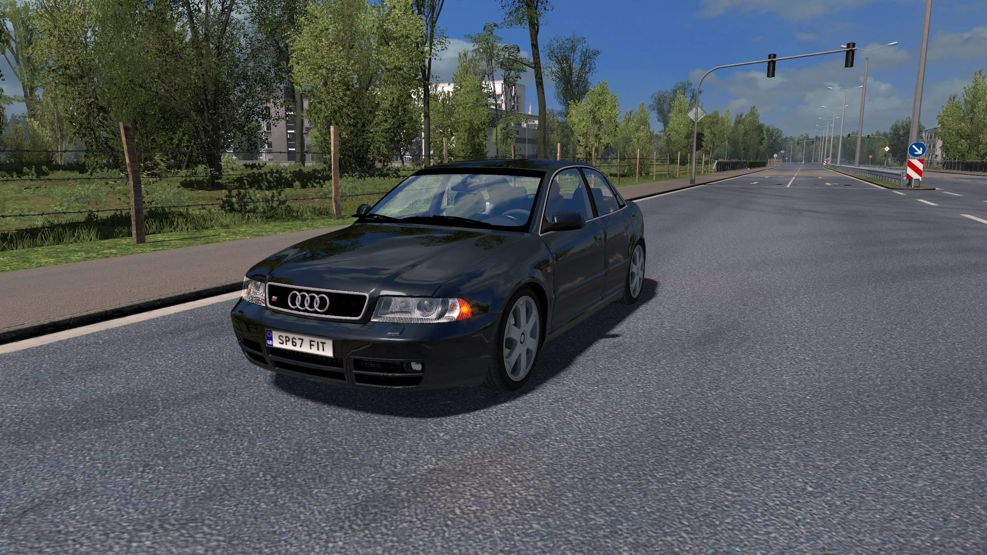 Photo of ETS2 – Audi S4 B5 Araba Modu V1.2