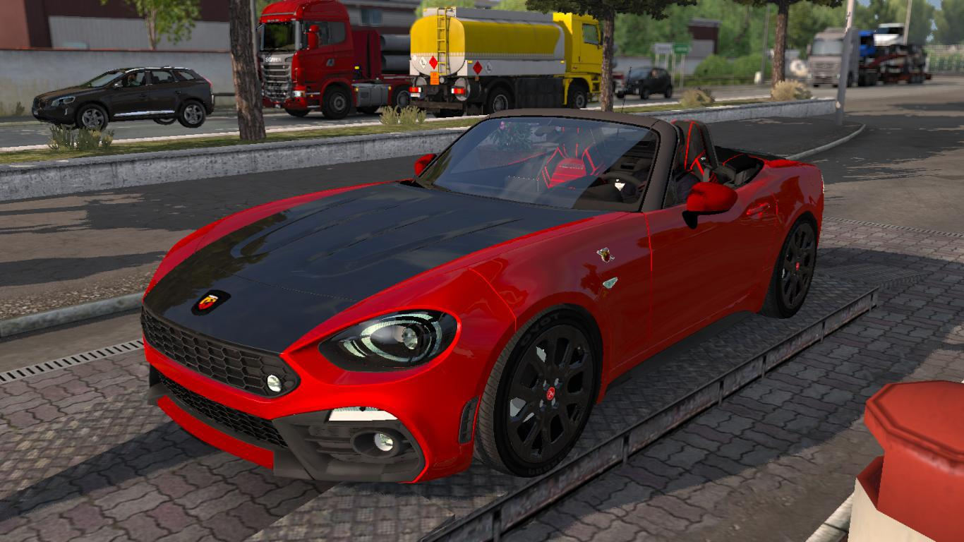 Photo of ETS2 – Fiat Abarth 124 Spider Araba Modu