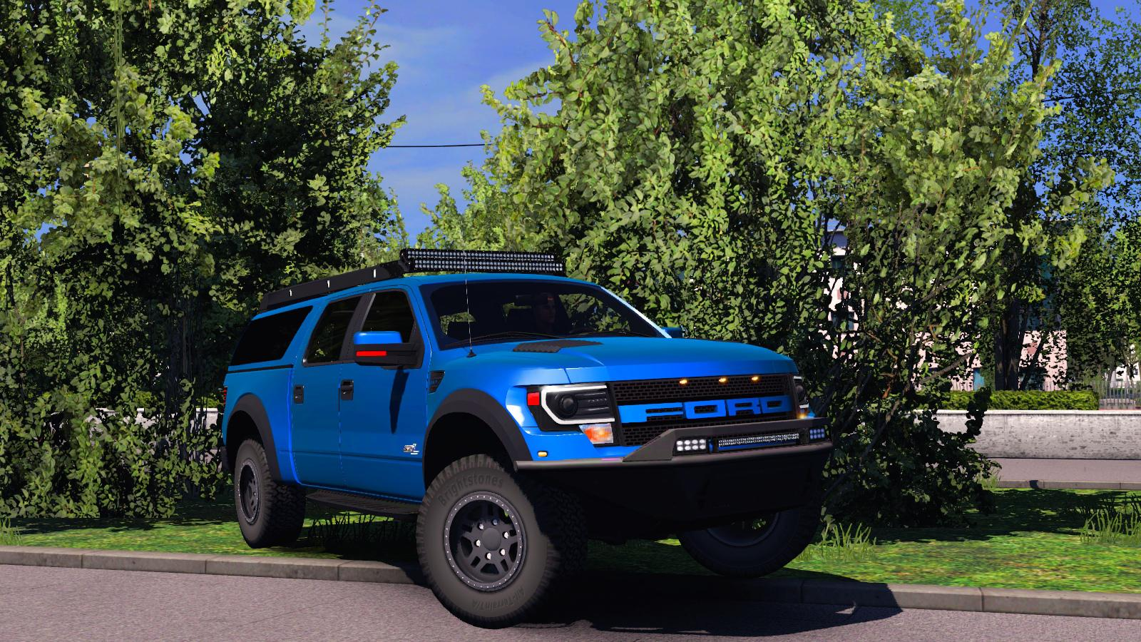 Photo of ETS2 – Ford F-150 Raptor Fix Mod
