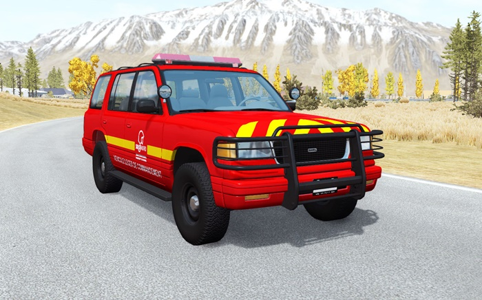 Photo of BeamNG – Gavril Roamer Pompiers V1.0.2
