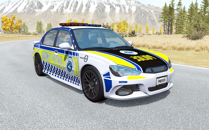 Photo of BeamNG – Hirochi Sunburst Avustralya Polis Arabası v0.2.1