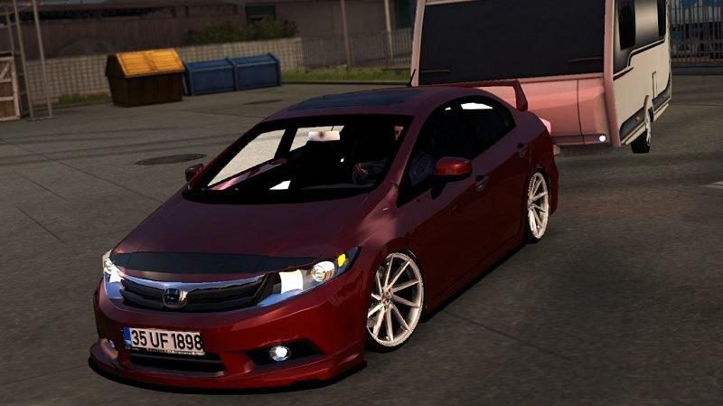 Photo of ETS2 – Honda Civic FB7 V1R4 Araba Modu