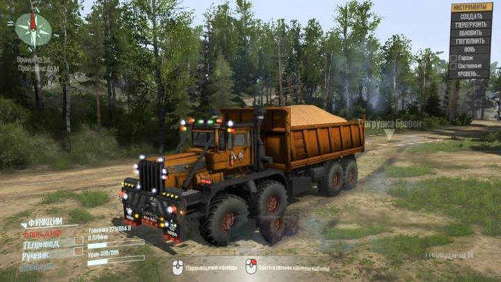 Photo of SpinTires MudRunner – K-700 8×8 Kamyon Modu v1.0