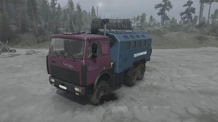 Photo of SpinTires MudRunner – Maz-64229 Kamyon Modu v04.24.19