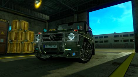 Photo of ETS2 – Mercedes G63 AMG Araba Modu