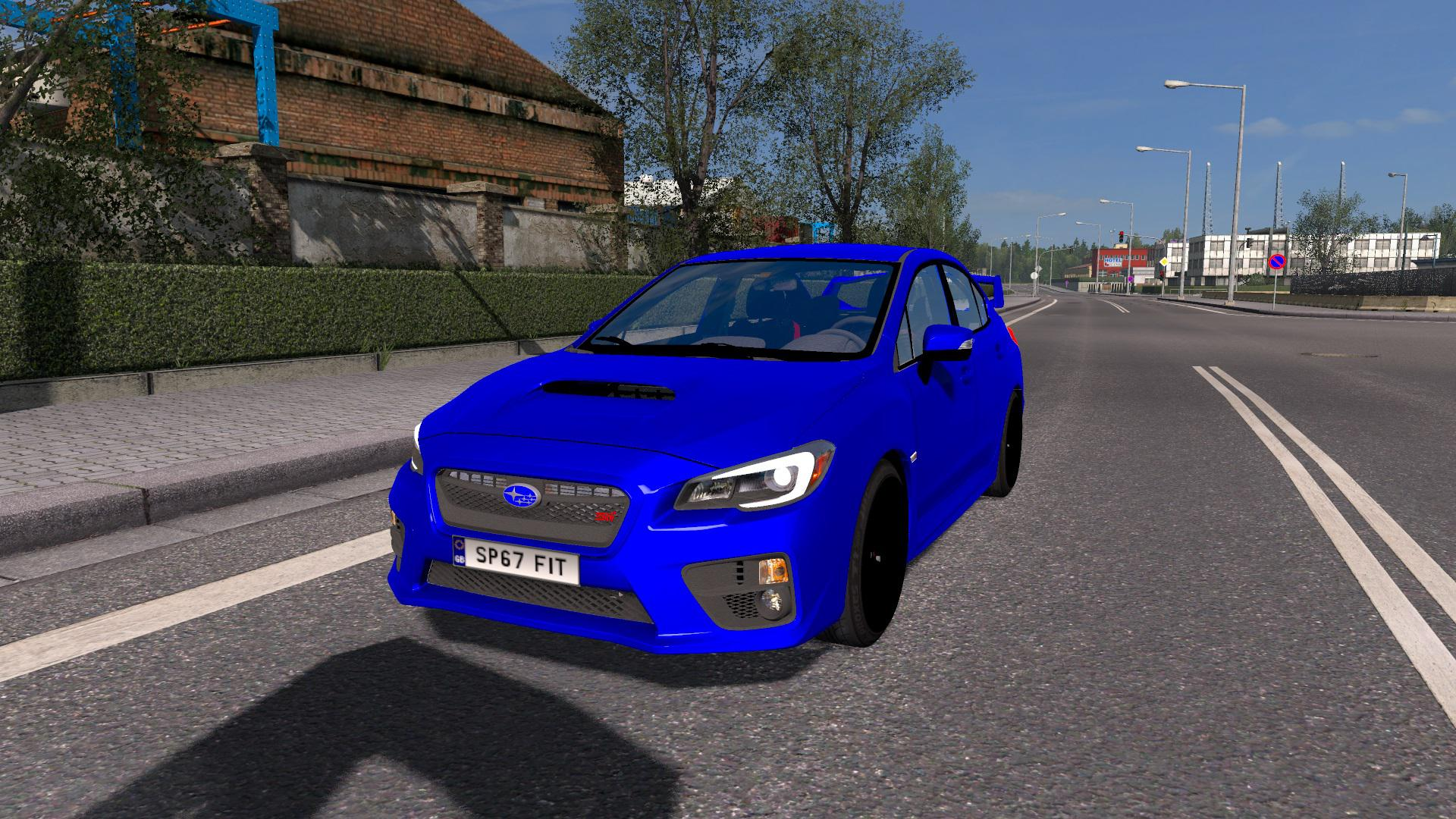 Photo of ETS2 – Subaru Impreza WRX STI 2017 Model Araba Modu V1.7