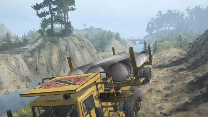 Photo of SpinTires MudRunner – Base Chief 6 Harita Modu v1.0