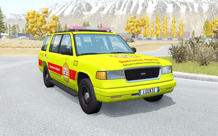 Photo of BeamNG – Gavril Roamer Soccorso Alpino Araba Modu