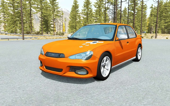 Photo of BeamNG – Hirochi Sunburst Legacy Araba Modu