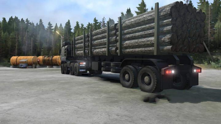 Photo of SpinTires MudRunner – Kamaz-65228 Kamyon Modu v01.05.19