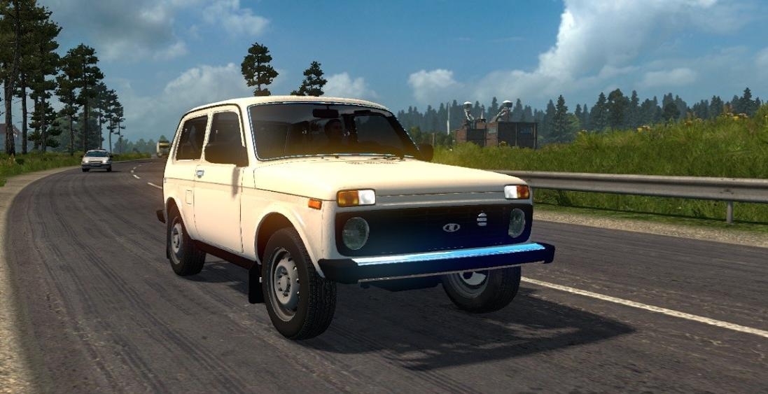 Photo of ETS2 – Lada Niva 2121 Araba Modu