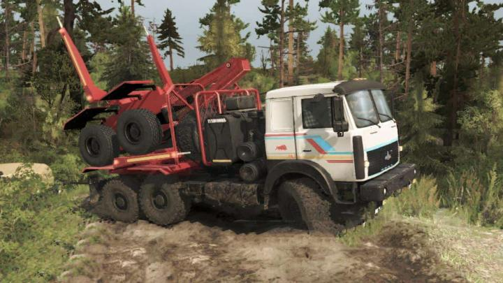 Photo of SpinTires MudRunner – Maz 6317 Kamyon Modu v1.2