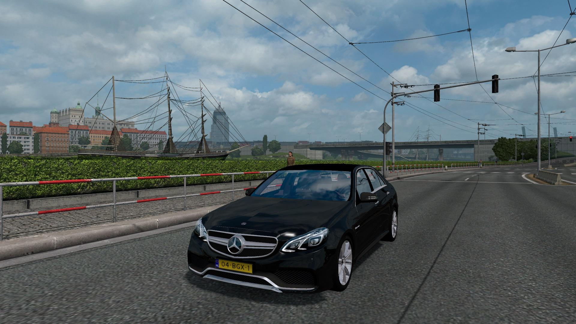 Photo of ETS2 – Mercedes E63 AMG 2016 Model V1.2.1