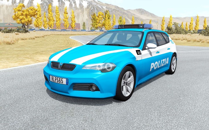 Photo of BeamNG – ETK 800-Serisi Polis Araba Modu