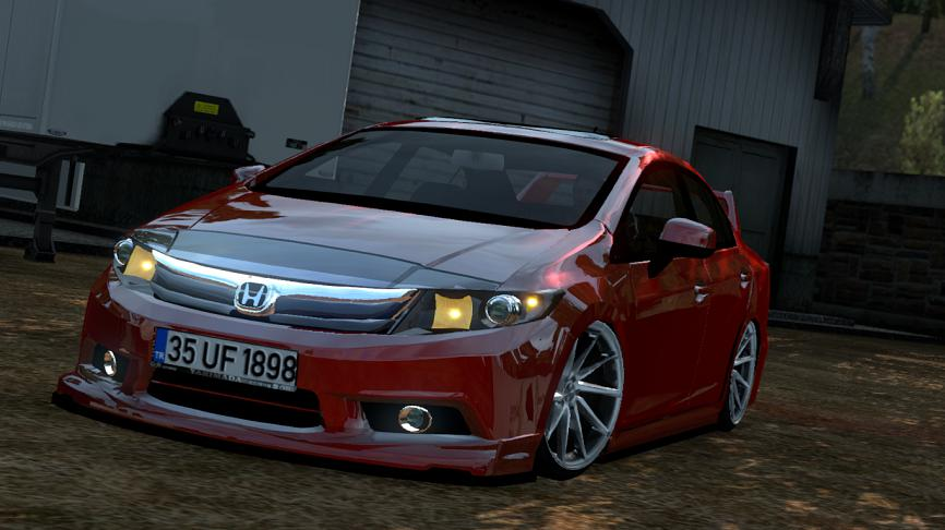 Photo of ETS2 – Honda Civic FB7 V1R10 Araba Modu