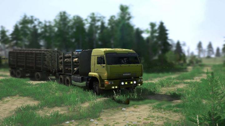 Photo of SpinTires MudRunner – Kamaz 65225 Kamyon Modu v5.06.19