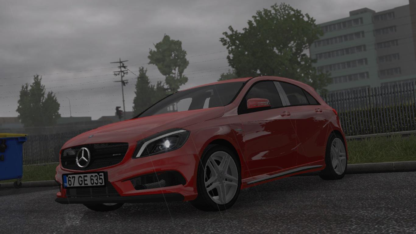 Photo of ETS2 – Mercedes Benz A45 V1R10 Araba Modu