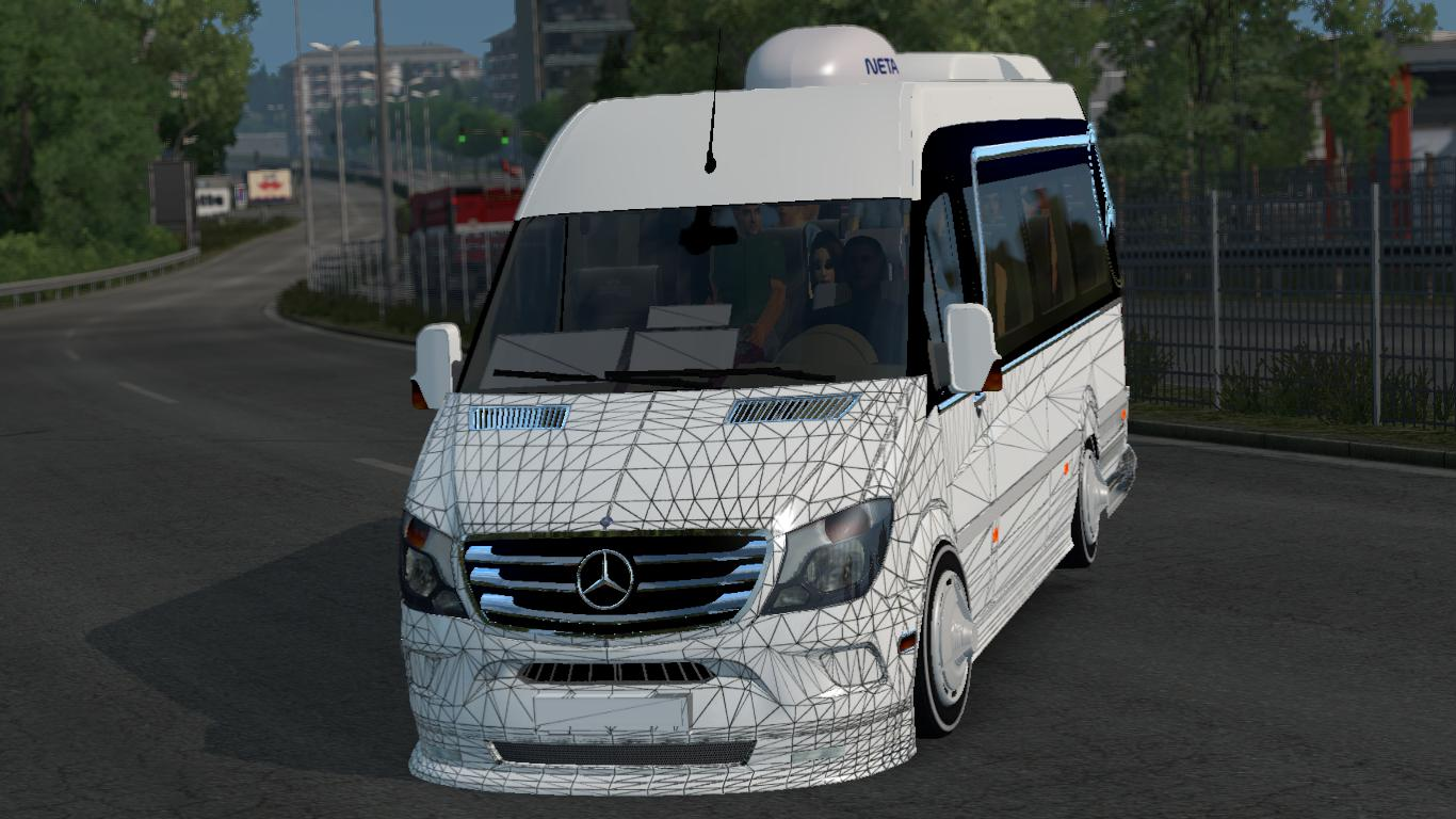 Photo of ETS2 – Mercedes Benz Sprinter 2017 Dolmuş – V1R10