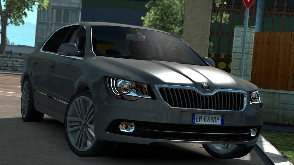 Photo of ETS2 – Skoda Superb (Scout Extra_D)