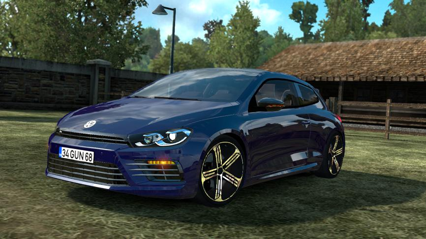 Photo of ETS2 – Volkswagen Scirocco V1R10 Araba Modu