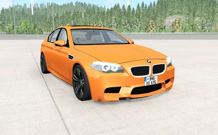 Photo of BeamNG – BMW M5 (F10) 2011 Model