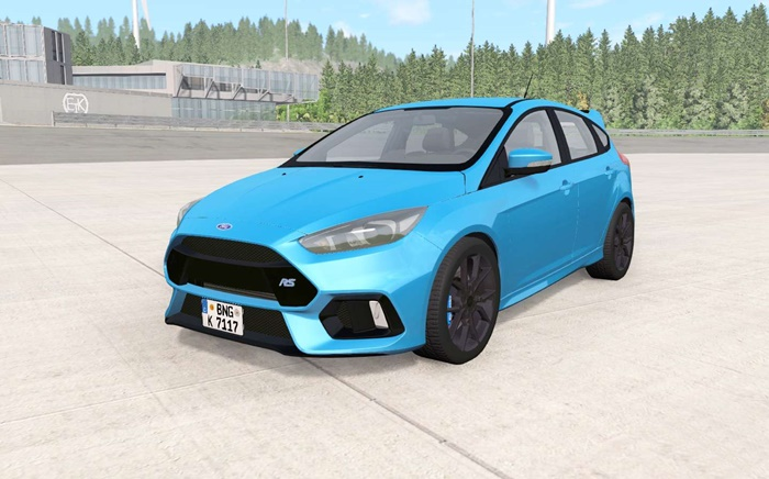 Photo of BeamNG – Ford Focus RS (DYB) 2016 Model