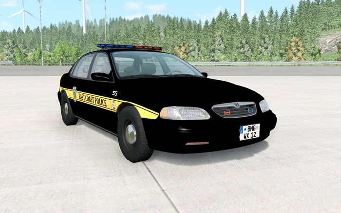 Photo of BeamNG – Ibishu Pessima 1996 East Coast Polis Arabası