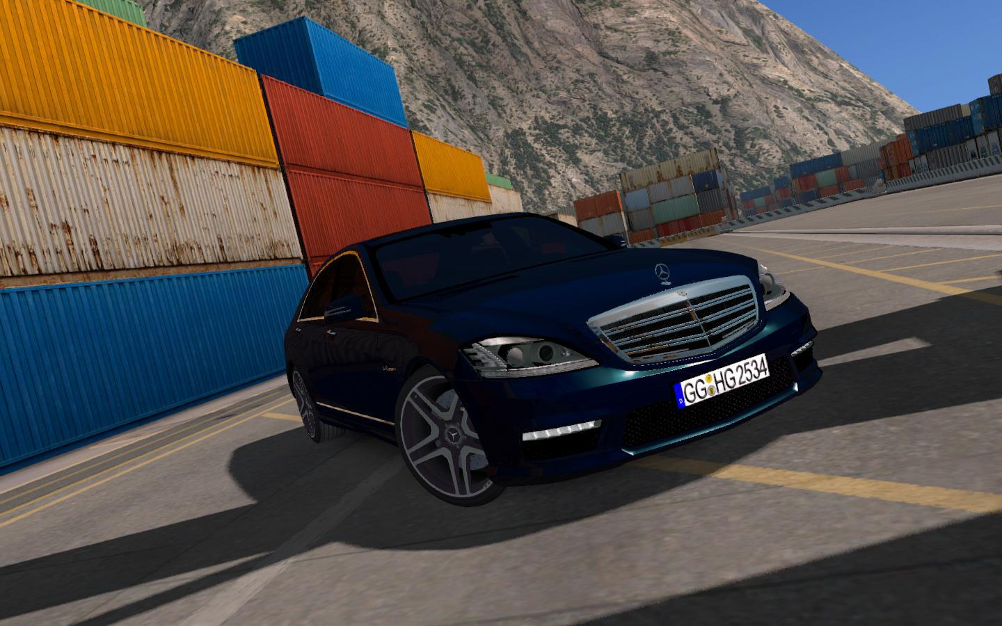 Photo of ETS2 – Mercedes-Benz S65 AMG