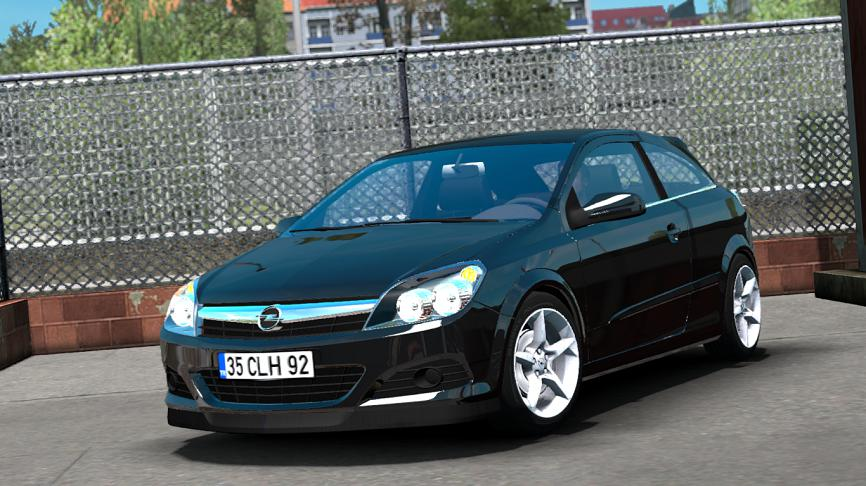Photo of ETS2 – Opel Astra H GTC/OPC – V1R10 Araba Modu
