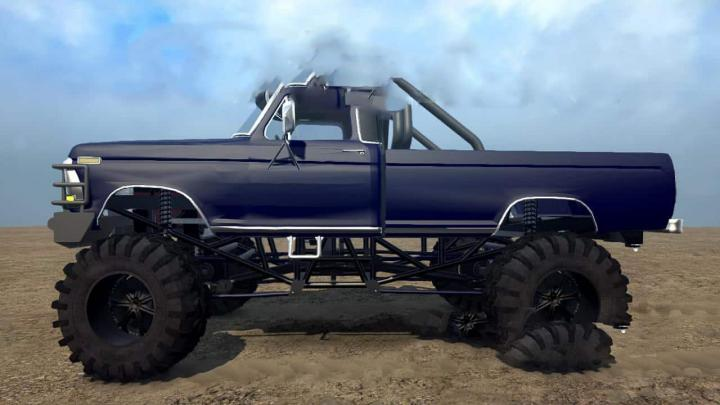 Photo of SpinTires MudRunner – 1979 Ford F150 (Sulley) v1.0