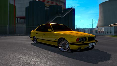 Photo of ETS2 – BMW M5 E34 Araba Modu V3 (1.35.X)