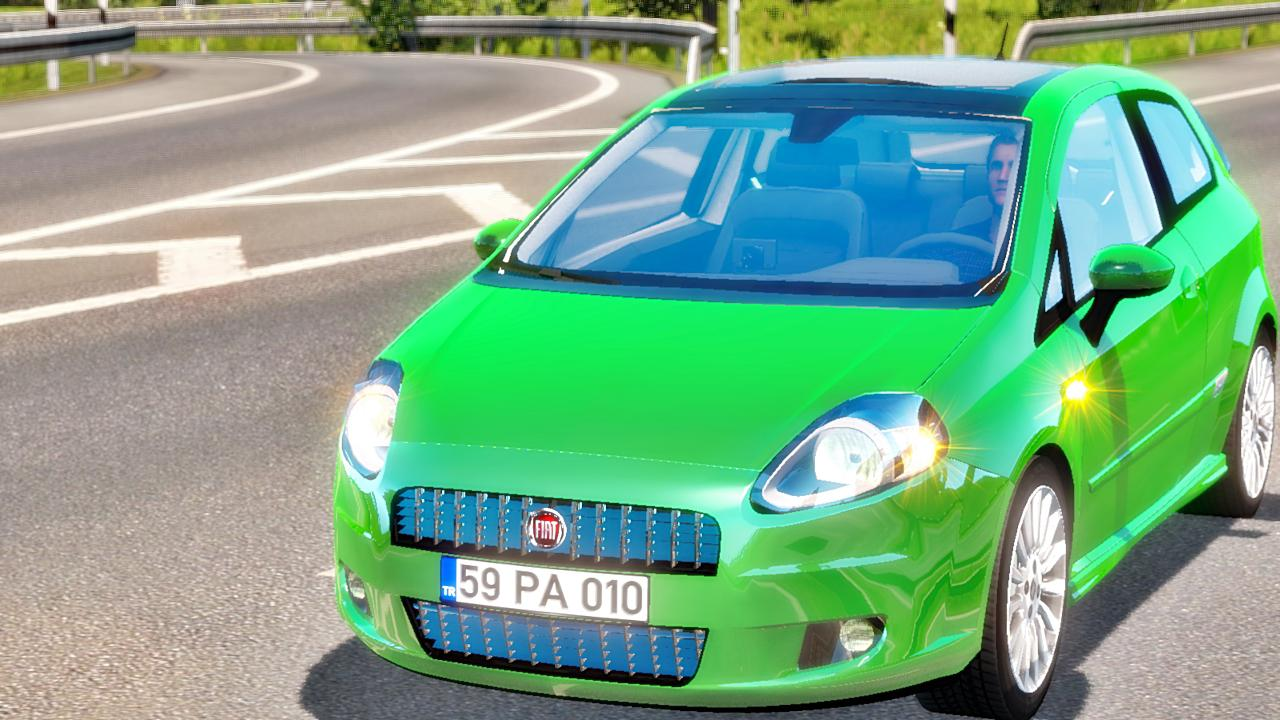 Photo of ETS2 – Fiat Punto V1R10 Araba Modu