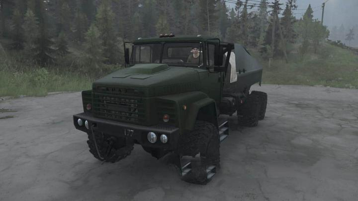 Photo of SpinTires MudRunner – KrAZ-260 Kamyon Modu v01.08.19