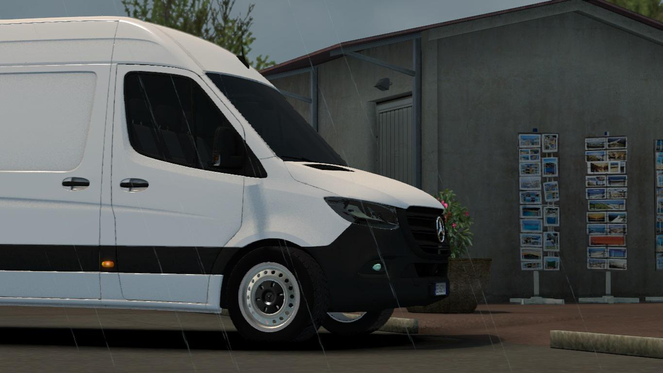 Photo of ETS2 –  Mercedes-Benz Sprinter 2019 V1R10 (1.35.X)