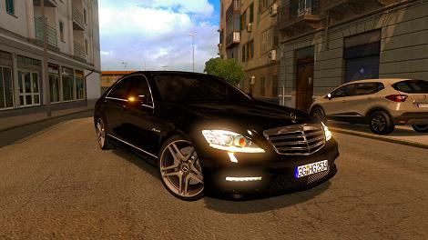 Photo of ETS2 – Mercedes S65 AMG Araba Modu V4.0 (1.35.X)