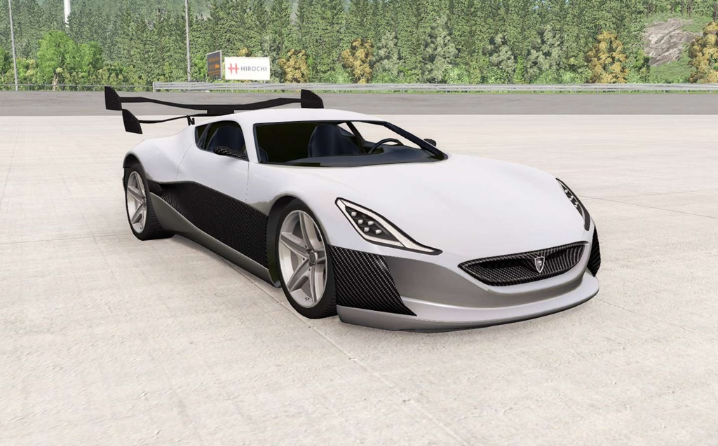 Photo of BeamNG – Rimac Concept One Araba Modu