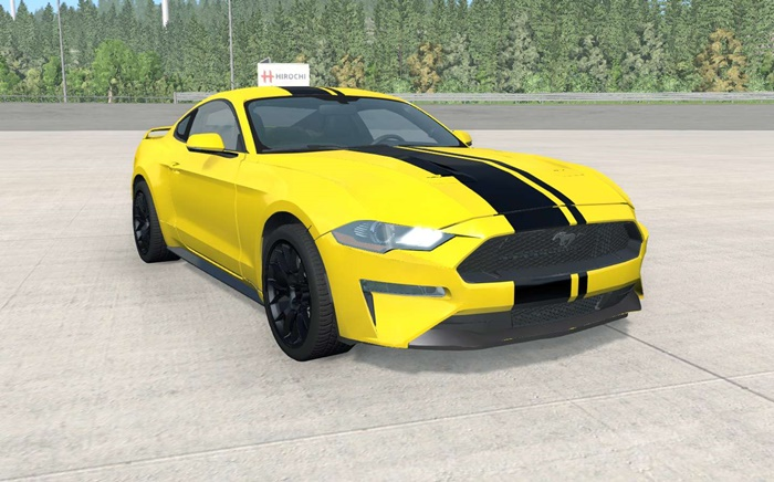 Photo of BeamNG – Ford Mustang Ecoboost 2018 Model