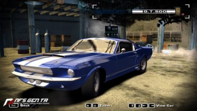 Photo of NFS Most Wanted Ford Shelby GT500 1967 Model