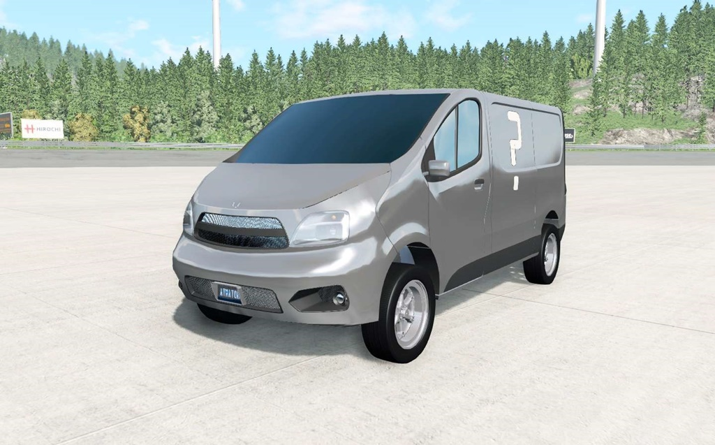 Photo of BeamNG – JKrispy Taco Man Van Araba Modu