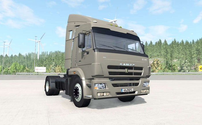 Photo of BeamNG – KamAZ-5460 Kamyon Modu