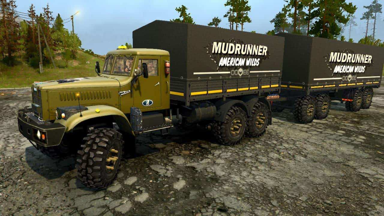 Photo of SpinTires MudRunner – Kraz Yaz 214 Kamyon Modu V1
