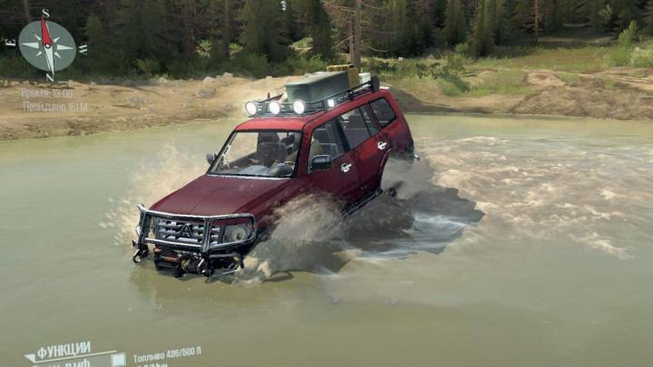 Photo of SpinTires MudRunner – Mitsubishi Pajero Sport Araba Modu v1